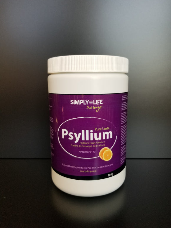 SFL- Psyllium Powder- Orange