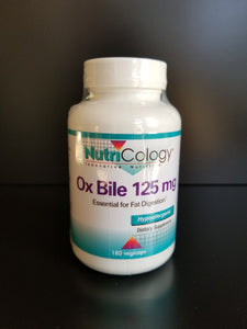 NutriCology- Ox Bile 125mg