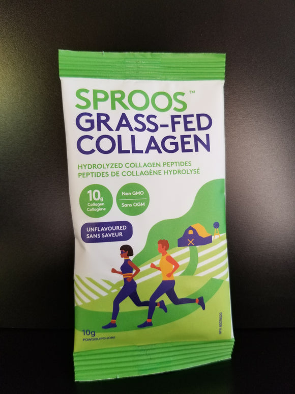 Sproos- Grass-fed Collagen 10g- Unflavored