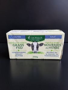 Thornloe- Grass Fed Butter- Salted
