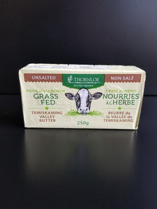 Thornloe- Grass Fed Butter- Unsalted