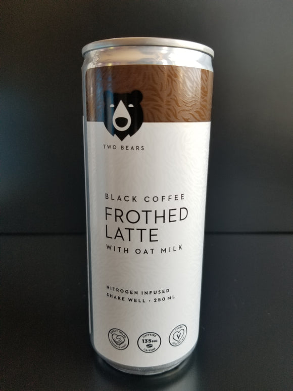 Two Bears- Black Oat Latte