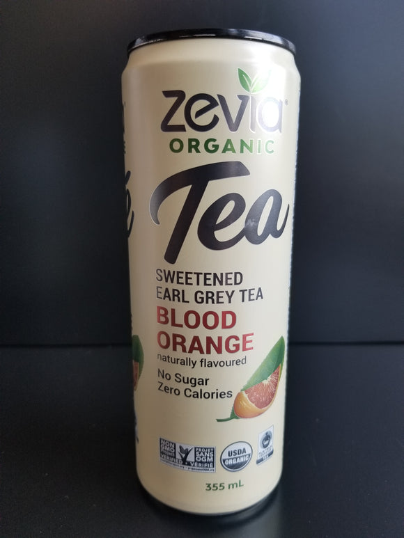 Zevia Iced Tea- Earl Grey Orange