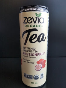 Zevia Iced Tea- Hibiscus Passion Fruit