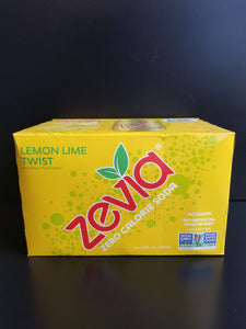 Zevia Soda- Lemon Lime