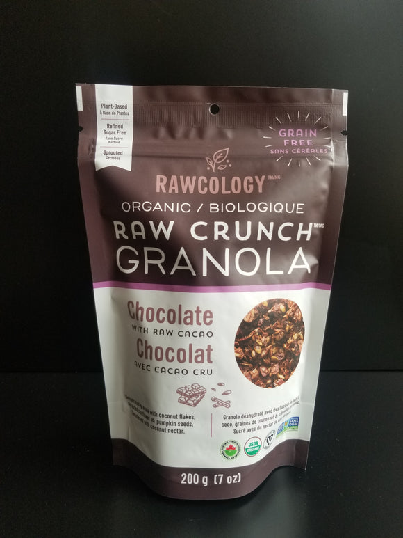 Rawcology- Granola Chocolate