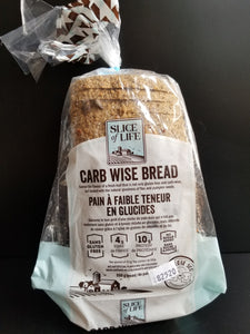 Slice of Life- Carbwise Bread