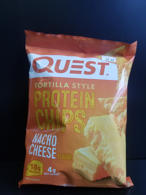 Quest Chips- Nacho Cheese