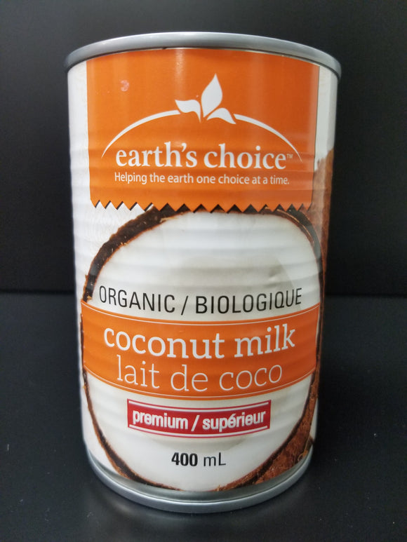 Earth's Choice- Coconut Milk