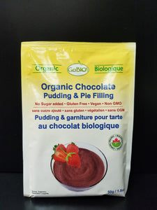 Go Bio Pudding Mix- Chocolate
