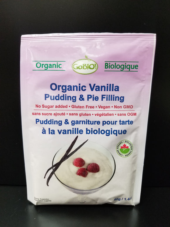Go Bio Pudding Mix- Vanilla