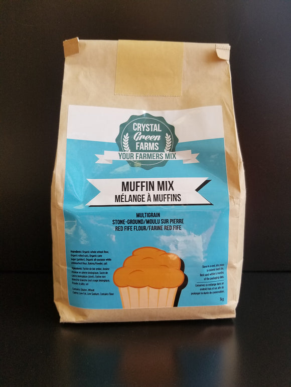 Crystal Green Farms- Muffin Mix