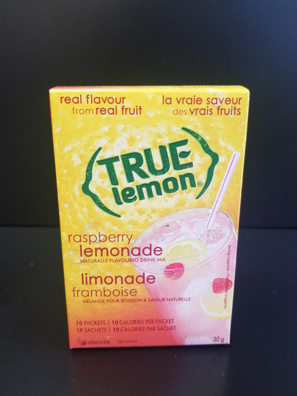 True Lemon- Raspberry Lemonade