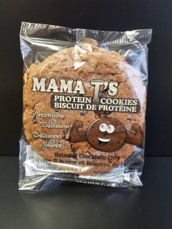 Mama T- Protein Cookie- Oatmeal Chocolate Chip