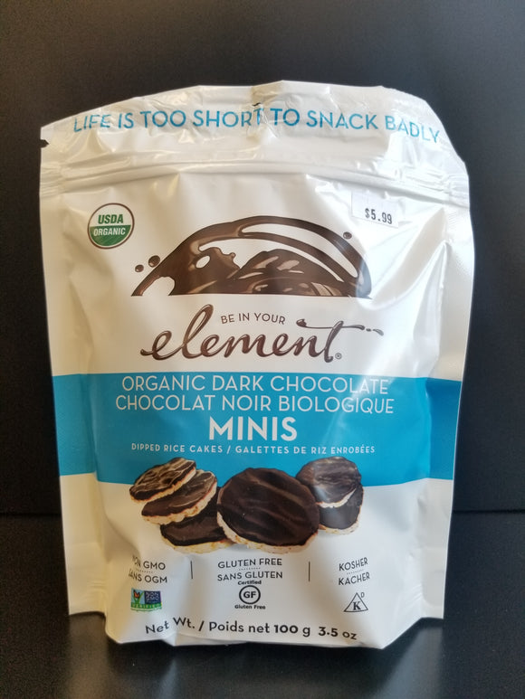 Element- Mini Dark Chocolate Rice Cakes