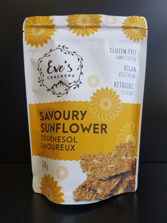 Eve's Crackers- Savoury Sunflower