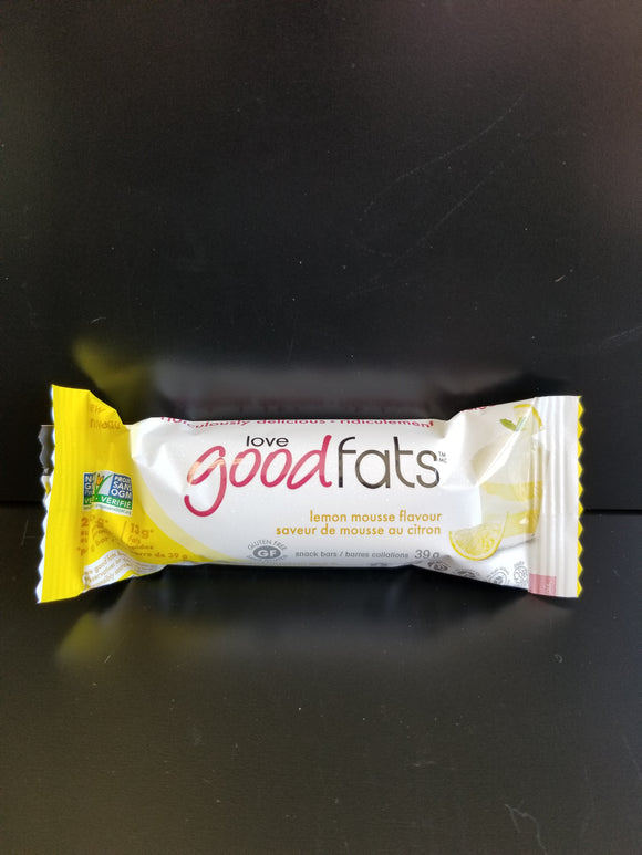 Love Good Fats- Lemon Mousse