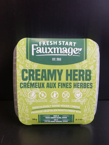 Fauxmage- Vegan Cheese- Creamy Herb