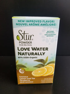 Stur- Drink Mix Sticks- Lemon Iced Tea