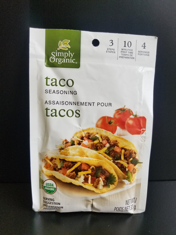 Simply Organic- Taco Seasoning
