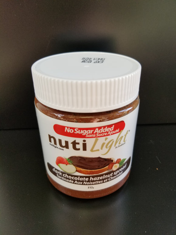 Nuti Light- Hazelnut Spread