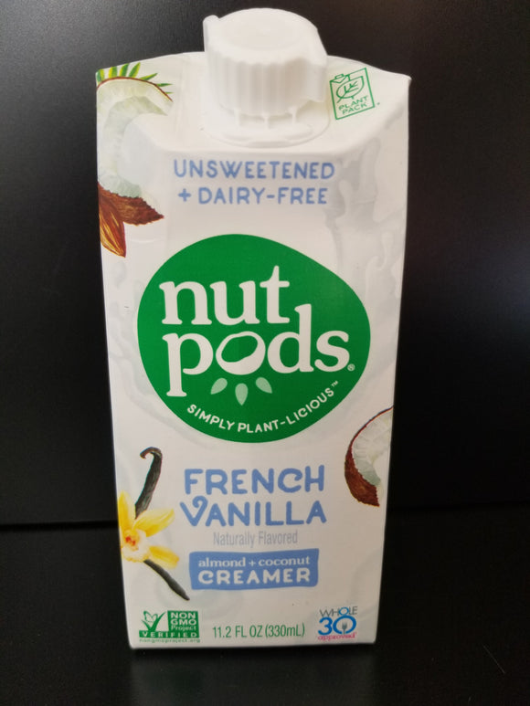Nut Pods- French Vanilla