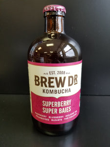 Brew Dr Kombucha- Superberry