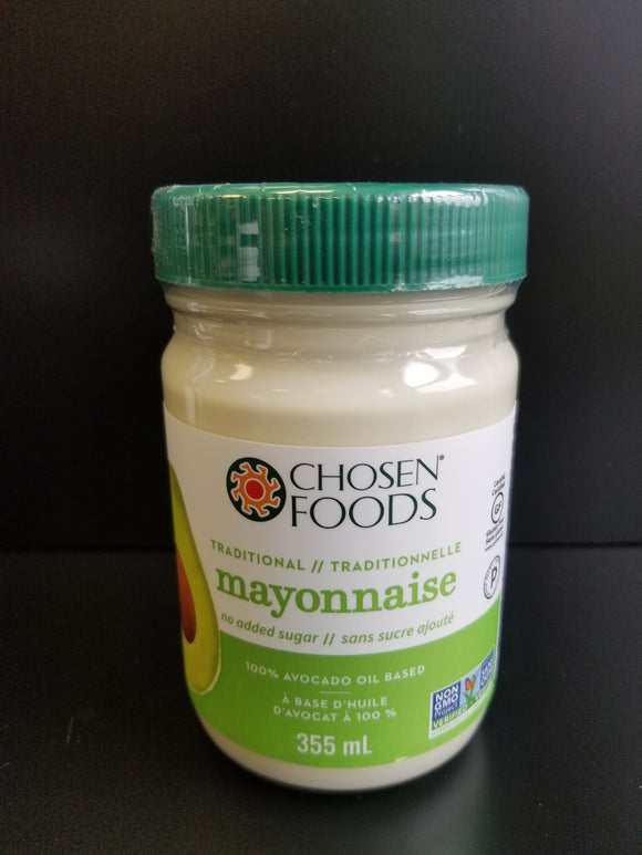 Chosen Foods- Avocado Mayo