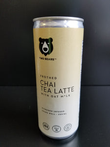 Two Bears- Chai Tea Oat Latte
