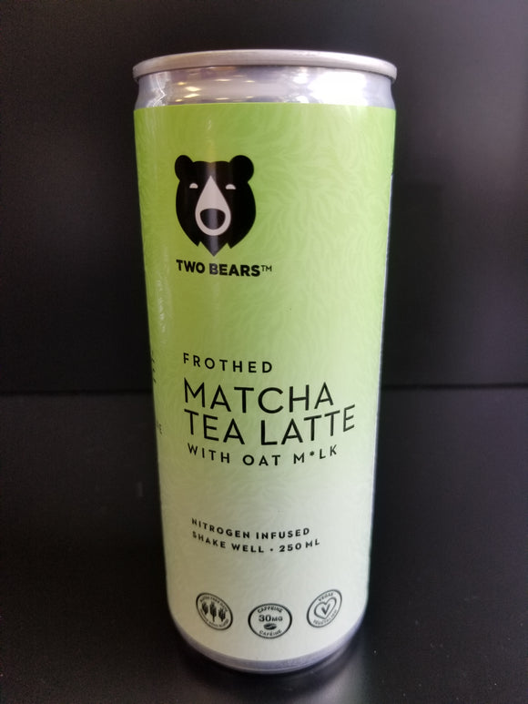 Two Bears- Matcha Tea Oat Latte