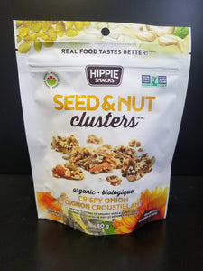 Hippie Snacks- Seed and Nut Clusters- Crispy Onion