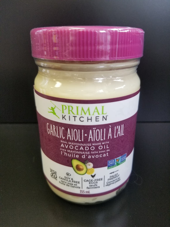 Primal Kitchen- Garlic Aioli