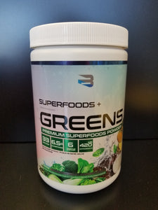 Believe Supplements- Superfoods Greens- Coconut Pinapple