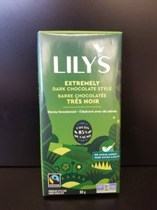 Lily's- Extremely Dark Chocolate bar