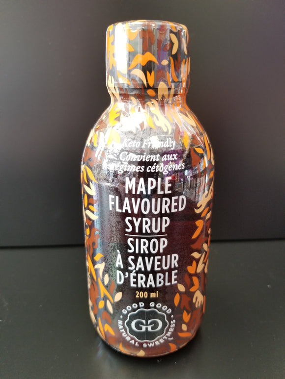 Good Good- Maple Flavored Syrup