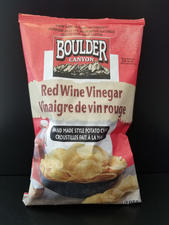Boulder Canyon- Red Wine Vinegar Potato Chips