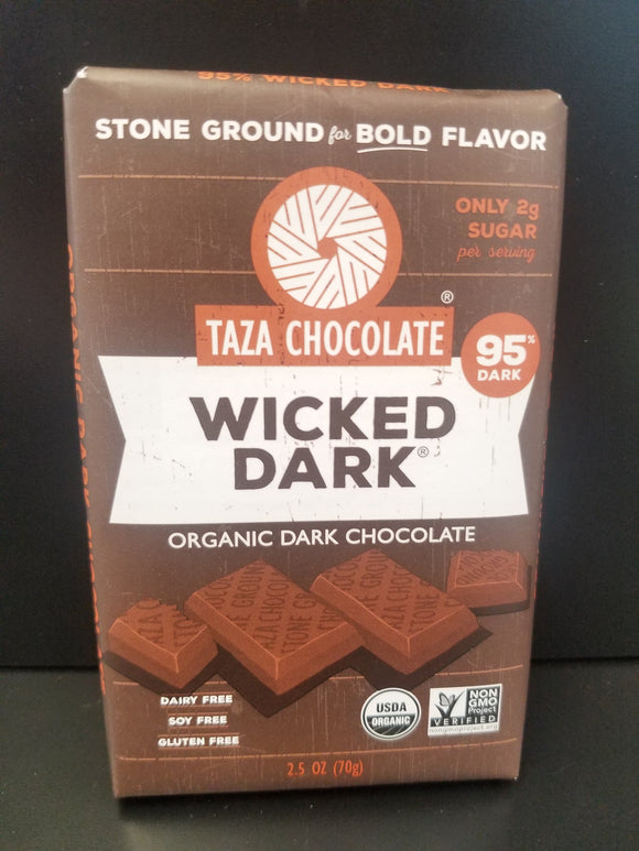 Taza Chocolate- Wicked Dark 95%