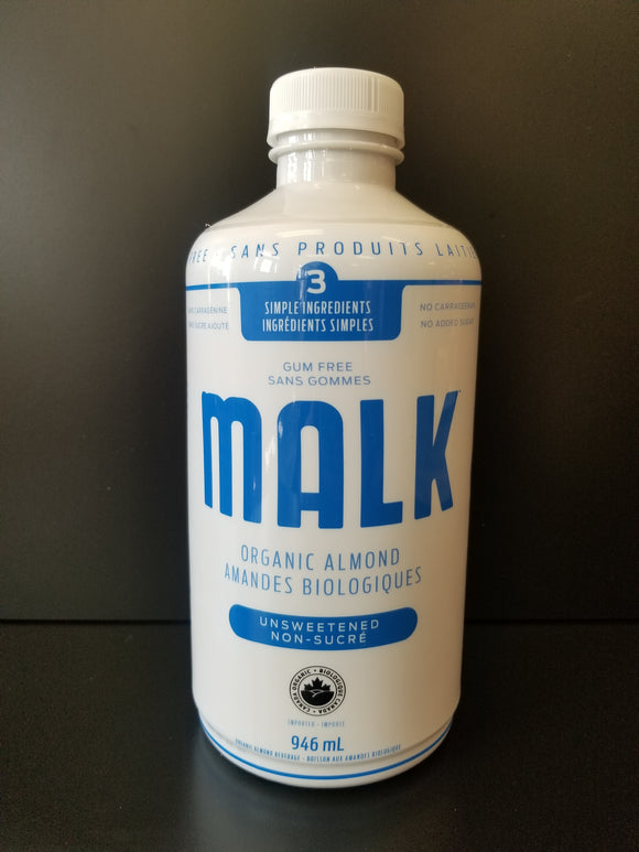 Malk- Unsweetened Almond Milk