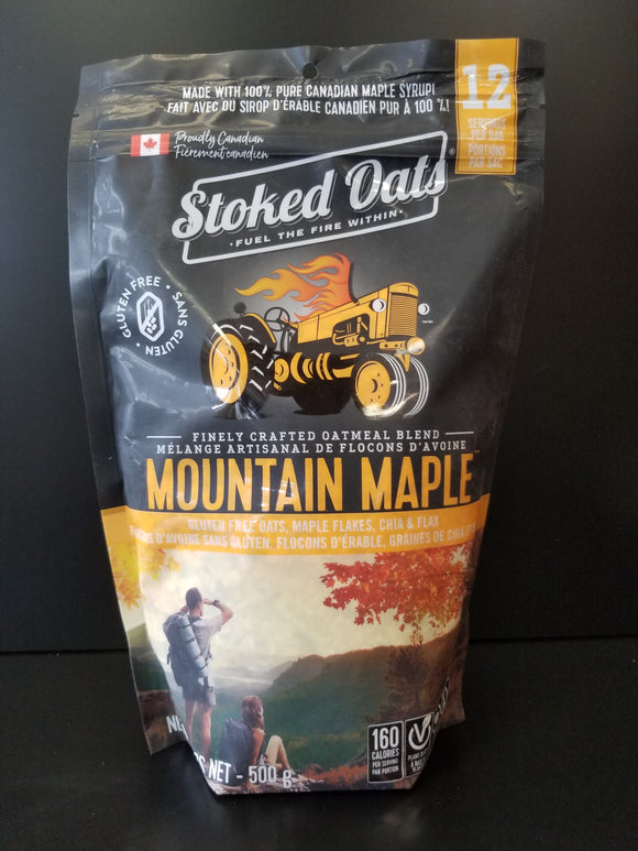 Stoked Oats- Mountain Maple