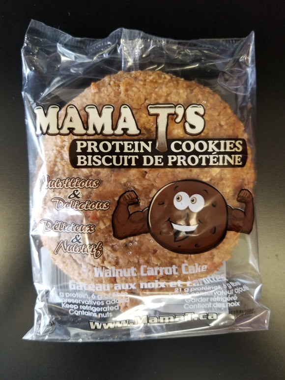 Mama T- Protein Cookie- Walnut Carrot Cake