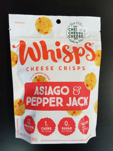 Whisps- Asiago & Pepper Jack