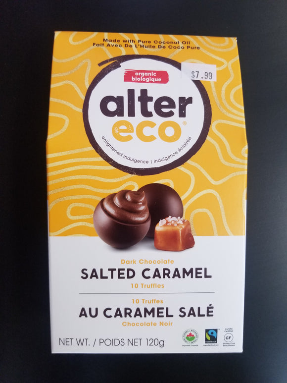 Alter Eco- Dark Salted Caramel Truffle