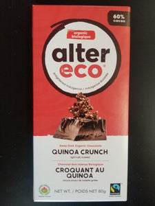 Alter Eco- Quinoa Crunch Bar
