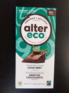 Alter Eco- Crisp Mint Bar