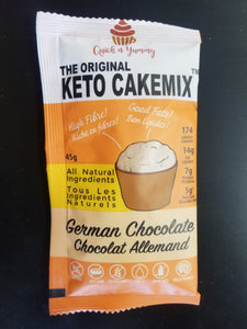 Quick N Yummy- Keto Cakemix- German Chocolate