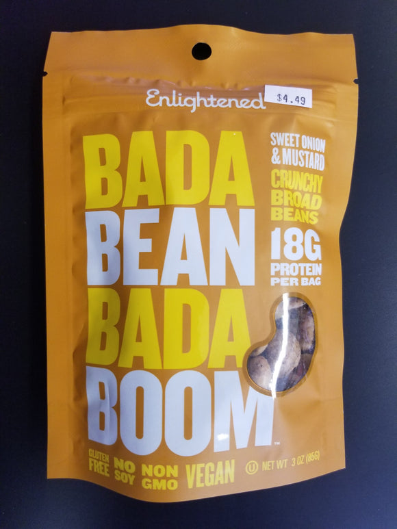 Enlightened- Bean Crisps- Sweet Onion & Mustard