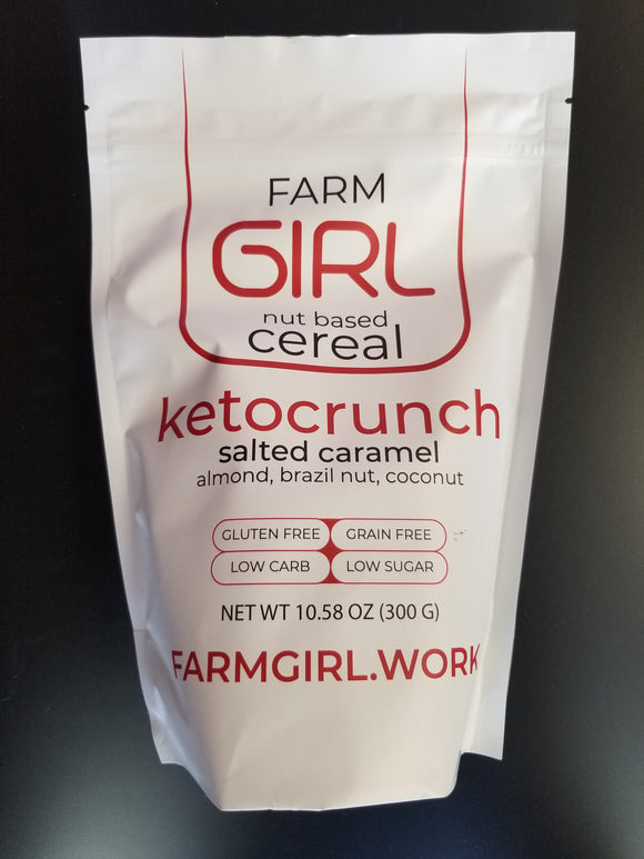 Farm Girl- Granola- Ketocrunch Salted Caramel