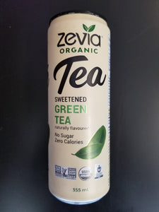 Zevia Iced Tea- Sweetened Green Tea