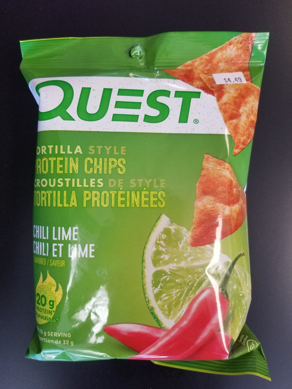 Quest Chips- Chili Lime