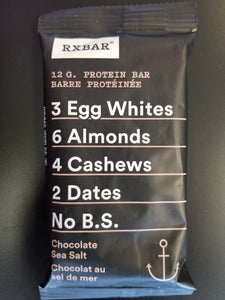 RX Bar- Chocolate Sea Salt
